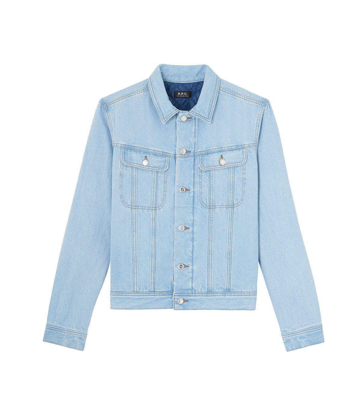 Khanomak Kids Girls Denim Distressed Button Up Jacket