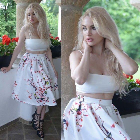 Meda Motisan - Zara Top, Romwe Skirt - Morning from Maldar's Mansion