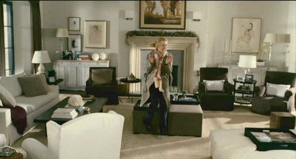The Holiday movie Amanda's living room