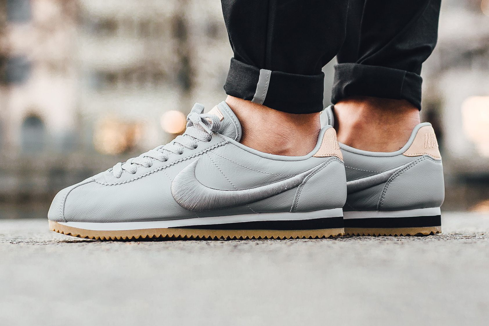 finest selection 6ba5d 0aeb7 Nike Goes Luxe with Classic Cortez Leather Premium