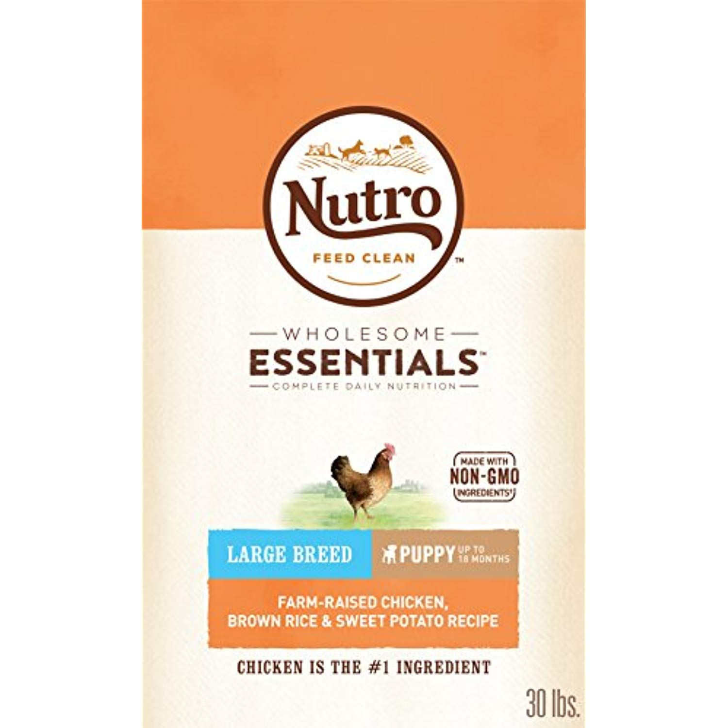 Nutro Wholesome Essentials Puppy Large Breed Dry Dog Food Farm