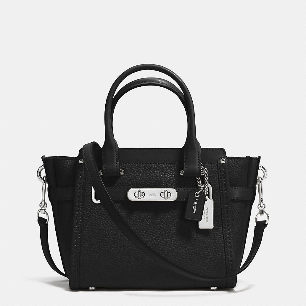 Coach Swagger 21 Carryall in Pebble Leather  e08bddc232d