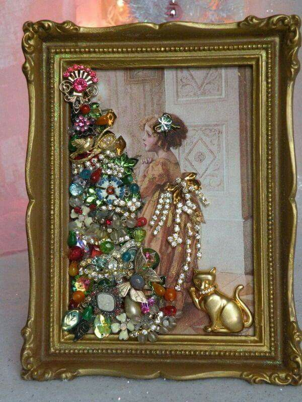 Jewelry enhanced picture | Cuadros de pedrería | Pinterest | Cuadro ...