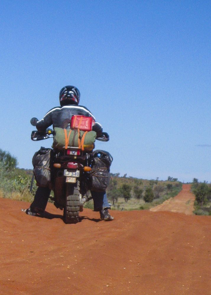#Ratboxer and friends to Birdsville and back by www.jacksonscamera.com  Read the story at https://ratboxer.wordpress.com/2015/10/27/ratboxer-three-busted-arsed-boxer #BMW #R1100GS Custom