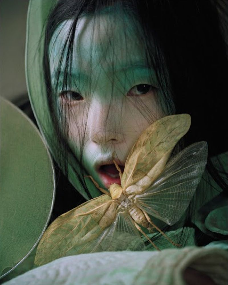 """Xiao Wen Ju in """"Magical Thinking"""" photographed by Tim Walker for W Magazine March #2012"""
