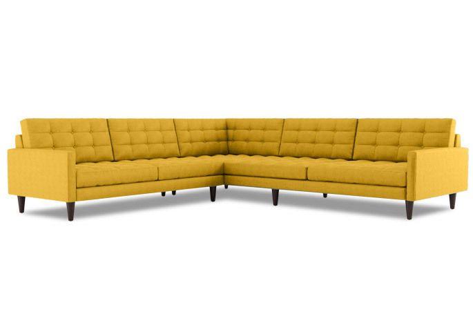 tyler l shape sectional midcentury modern furniture sectionals furniture u0026 decor thrive