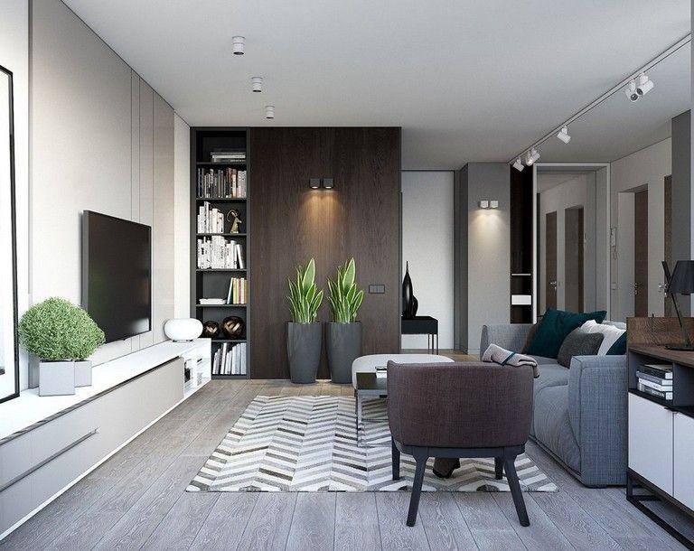 Best 25 Stunning Modern Apartment Decor Small House Interior 400 x 300