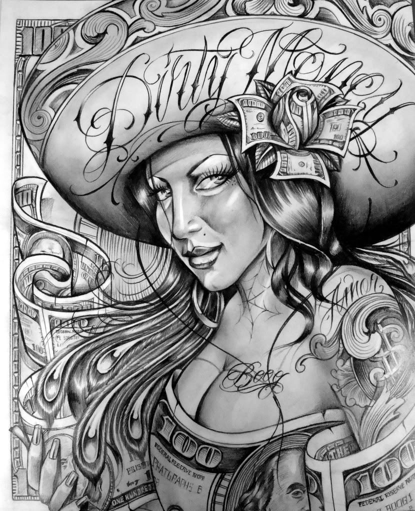 cholo prison art google search lowrider art pinterest prison art art google and. Black Bedroom Furniture Sets. Home Design Ideas