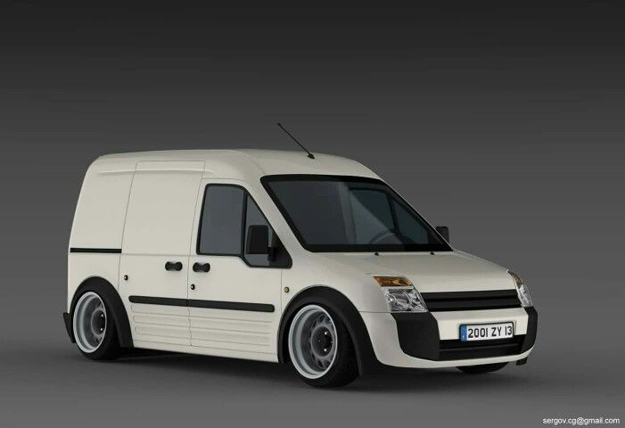 Transit Connect Rendering Ford Transit Ford Transit Connect