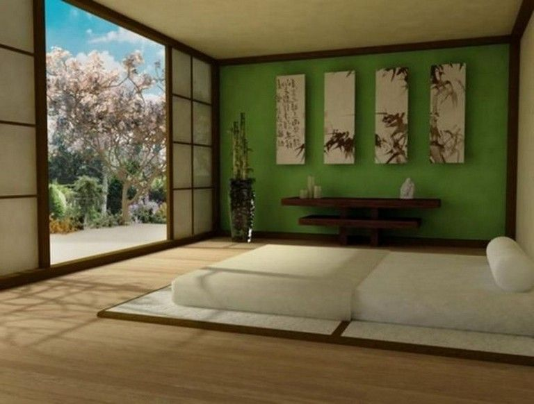 48 Marvelous Apartment With Artistic Japanese Style Design