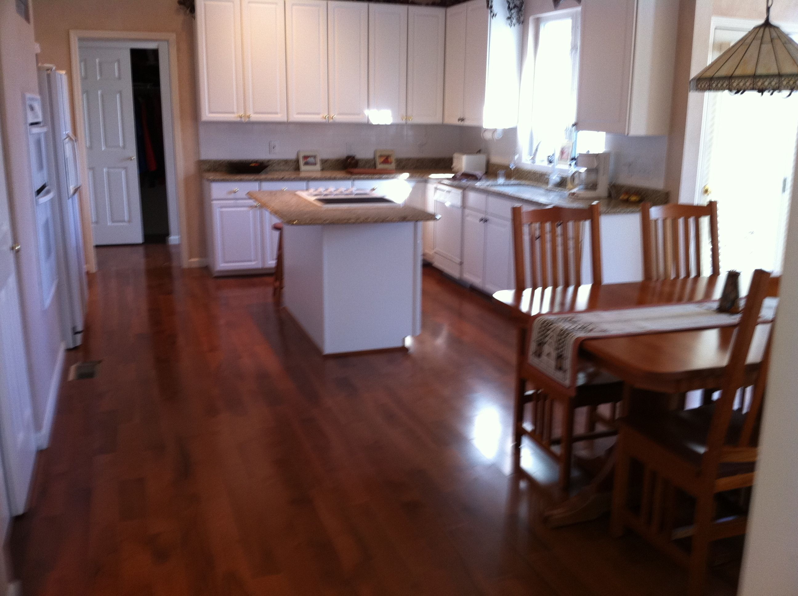 Hardwood Floor In The Kitchen 17 Best Images About Kitchen Designs On Pinterest Skylights Red