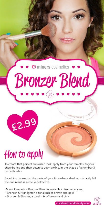 Need some beautytips on how to apply your bronzer need some beautytips on how to apply your bronzer minerscosmetics have ccuart Images