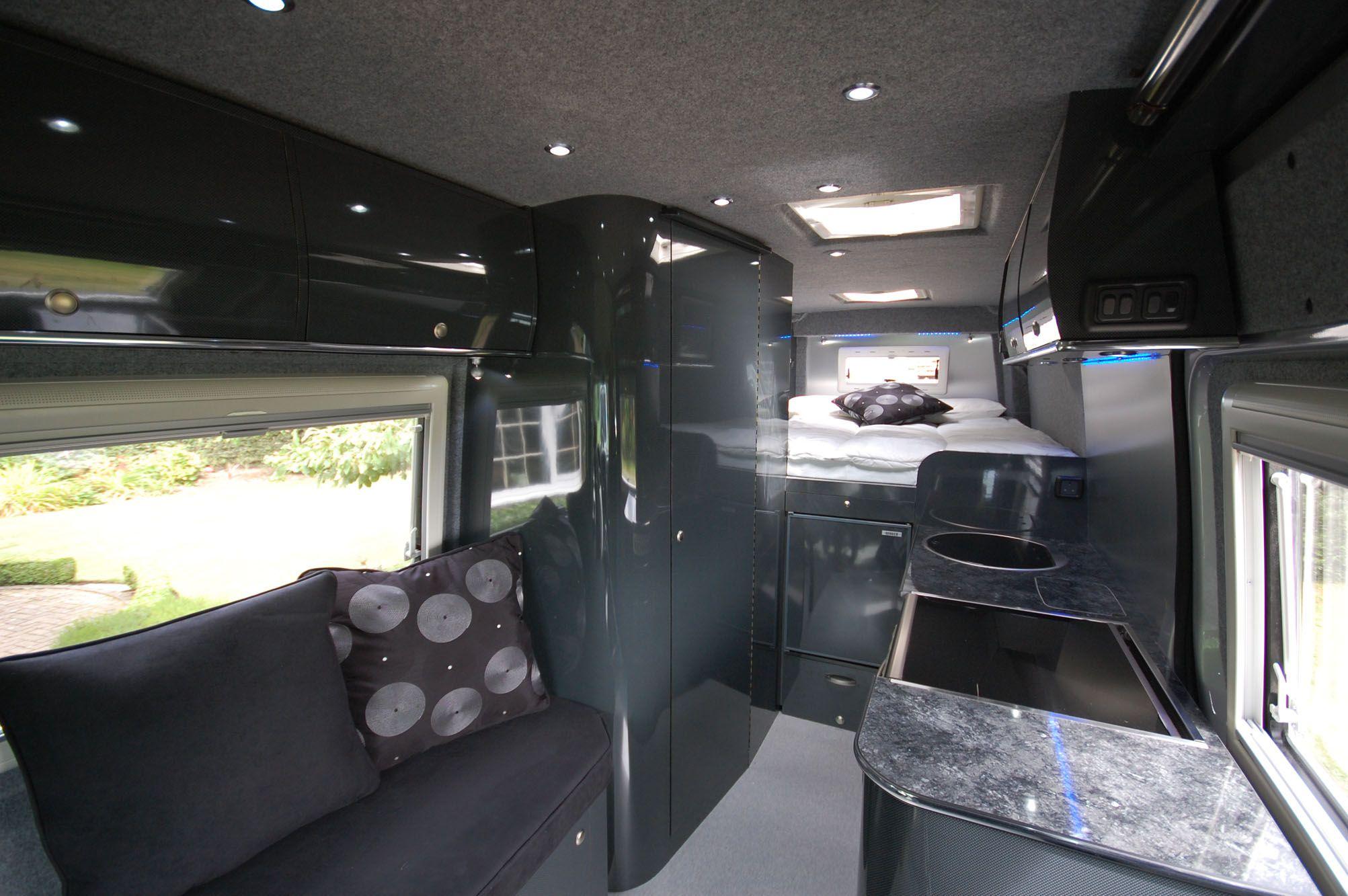 campervan interior Google Search RVCamper Pinterest Van