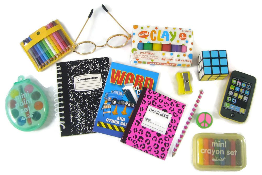 New School Supplies Set Works For 18 American Girl Dolls Accessories American Girl Doll Accessories American Girl Doll Crafts American Girl Doll House