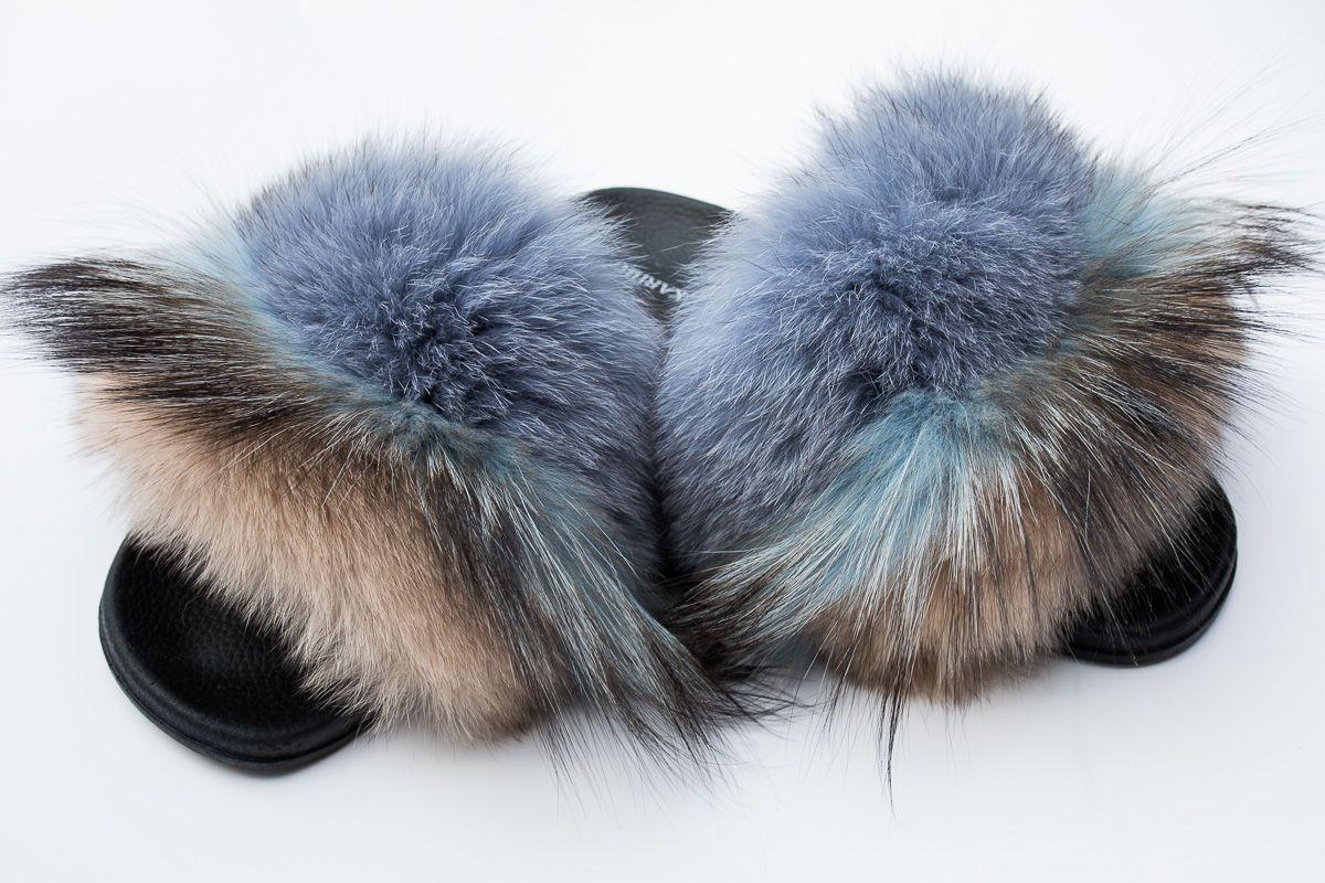 Klapki Damskie Z Naturalnym Futrem Z Lisa Kod Produktu Kdkf 80 Cena Sklep Internetowy Karibu Fur Fur Slides Lisa