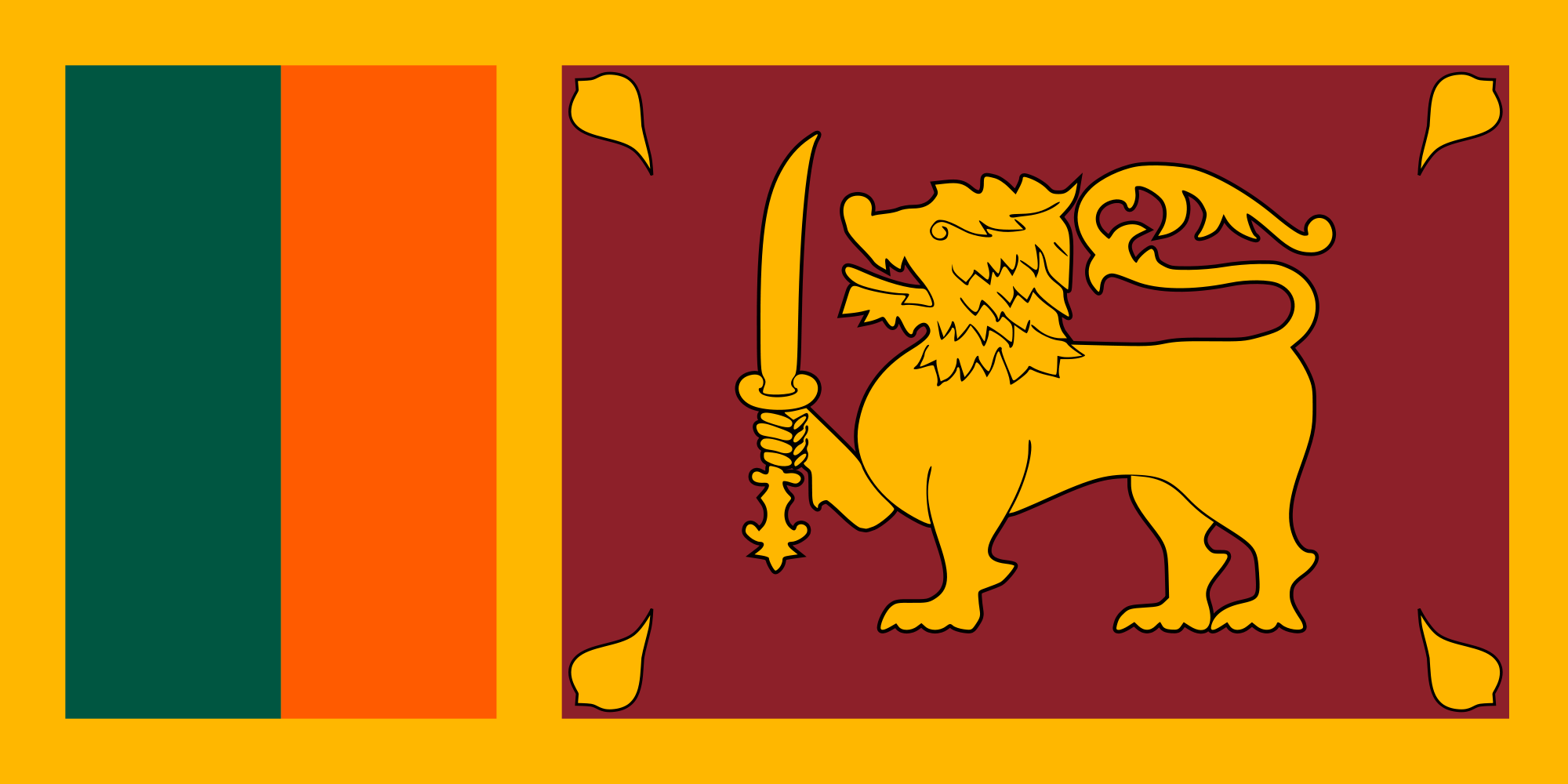 Sri Lanka Country Flag Sri Lanka Flag Sri Lankan Flag Flags Of