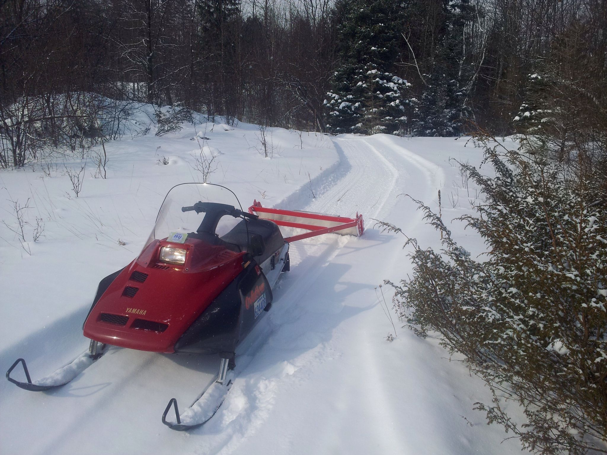 J.M. from Michigan  Cross Country Ski Trail Grooming