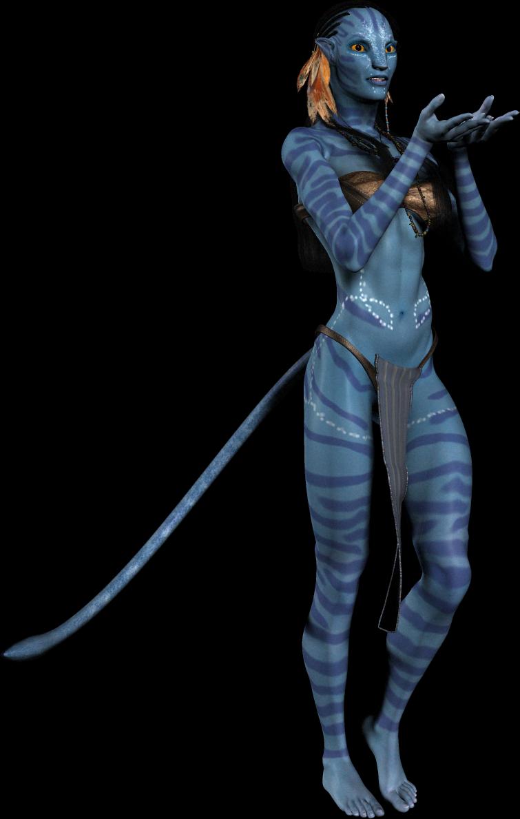 Avatar Neytiri Png Image Pandora Avatar Avatar Fan Art