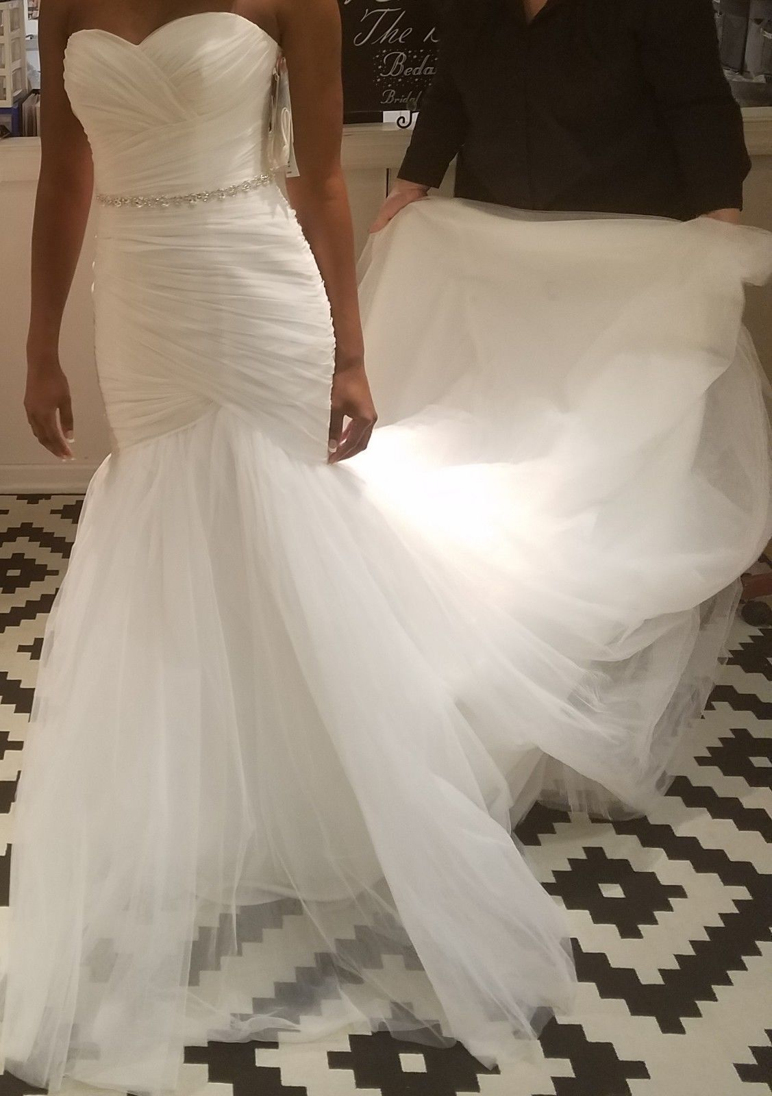 Mori Lee Ivory Wedding Dress Size 8 Style 5108 New Unadulter With Tags Wedding Dress Accessories Wedding Dresses Mermaid Sweetheart Bridal Gowns Mermaid