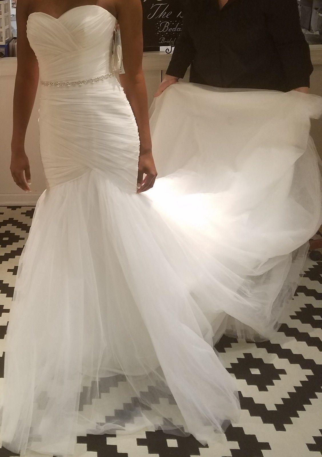 Mori Lee Ivory Wedding Dress Size 8 Style 5108 New Unadulter