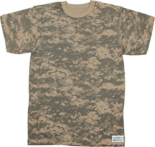 Army Universe ACU Digital Camouflage Short Sleeve T-Shirt... https   0bec7b4be93