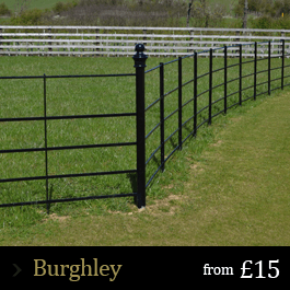 Burghley Left Fence Landscaping Fence Garden Fencing