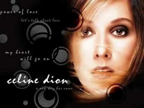 song lyrics celin dion