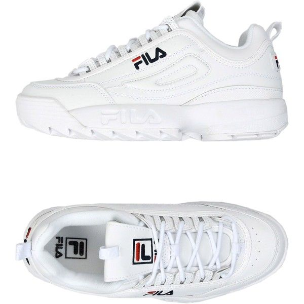 829ac8a5fb57 Fila Heritage Low-tops   Sneakers ( 68) ❤ liked on Polyvore featuring shoes