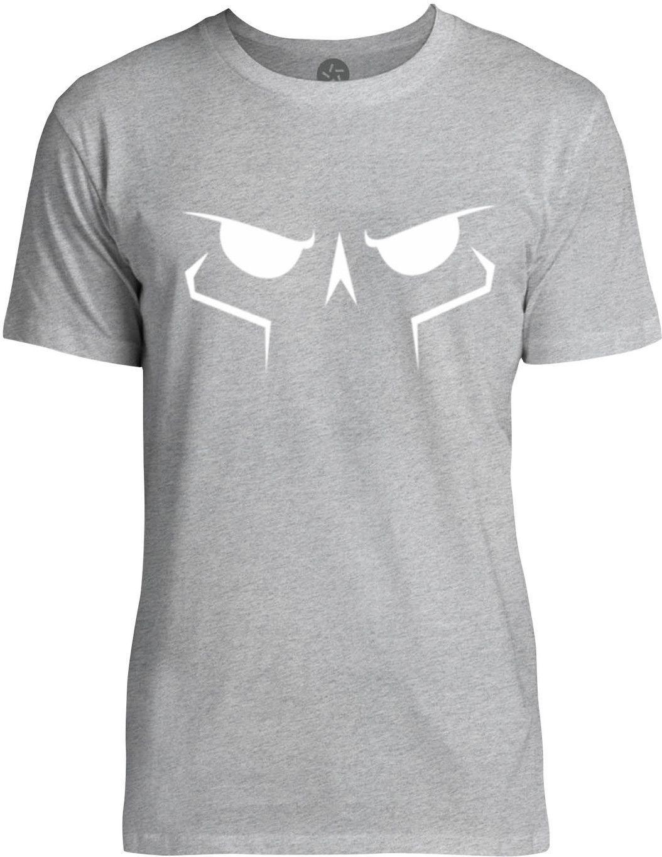 Skulls Face (White) Mens Fine Jersey T-Shirt