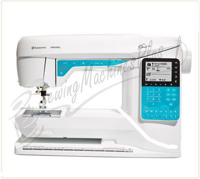 My New Sewing Machine Husqvarna Viking Opal™ 40 Sewing Machine Gorgeous Sapphire 835 Sewing Machine Review