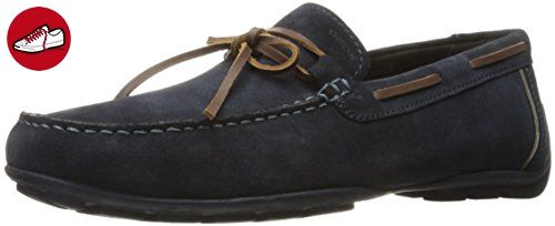 Uomo Snake Mocassino A, Mocassins (Loafers) Homme, Bleu (Navy), 41 EUGeox