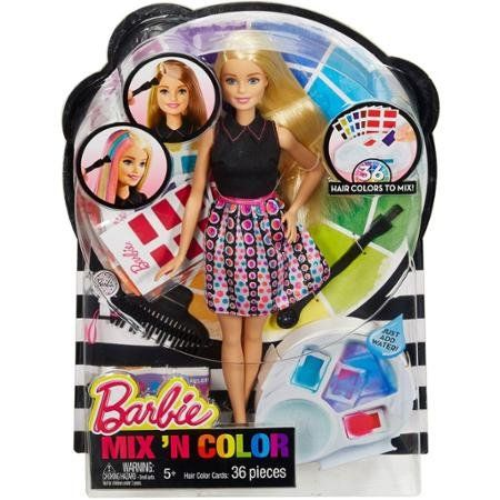 Barbie Mix N Color Doll Young Stylists Can Create Unique Http