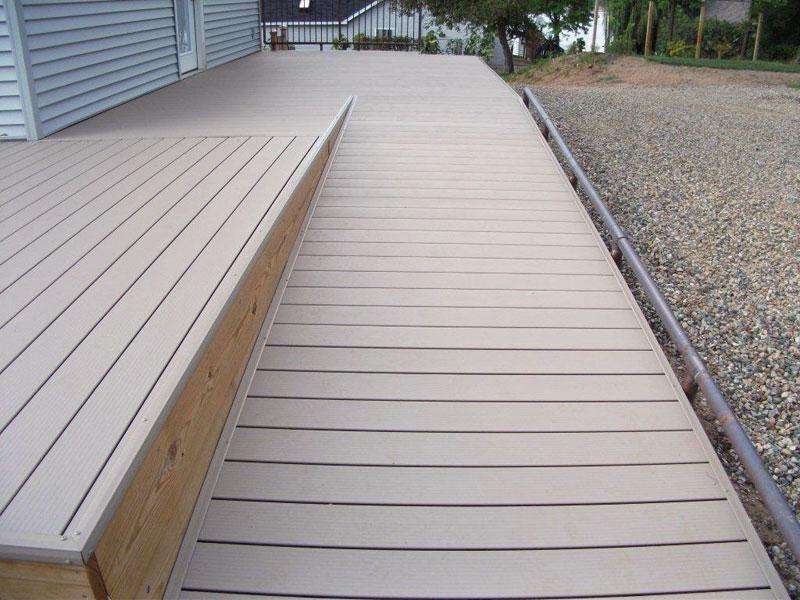 Timber decks inspiration nexgen decking australia for Australian hardwood decking