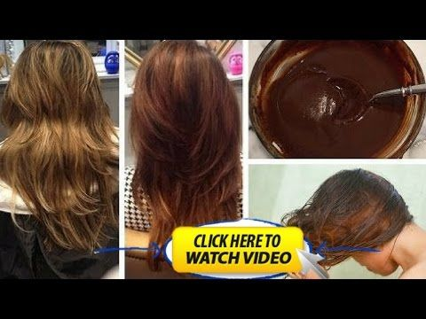 She Put Coffee In Her Hair To Dye It The Results Were Amazing How To Dye Your Hair At Home Youtube How To Darken Hair Darken Hair Naturally Hair