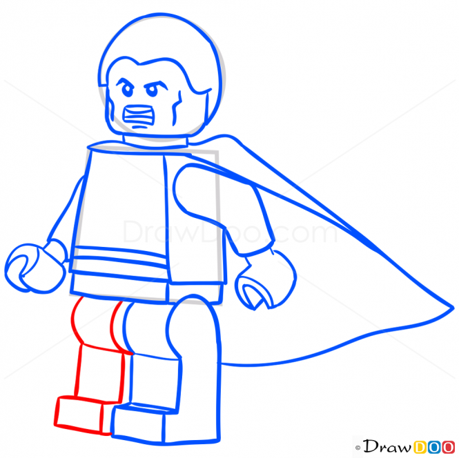 How To Draw Shazam Lego Super Heroes How To Draw Drawing Ideas Draw Something Drawing Tutorials Portal Lego Super Heroes Superhero Shazam