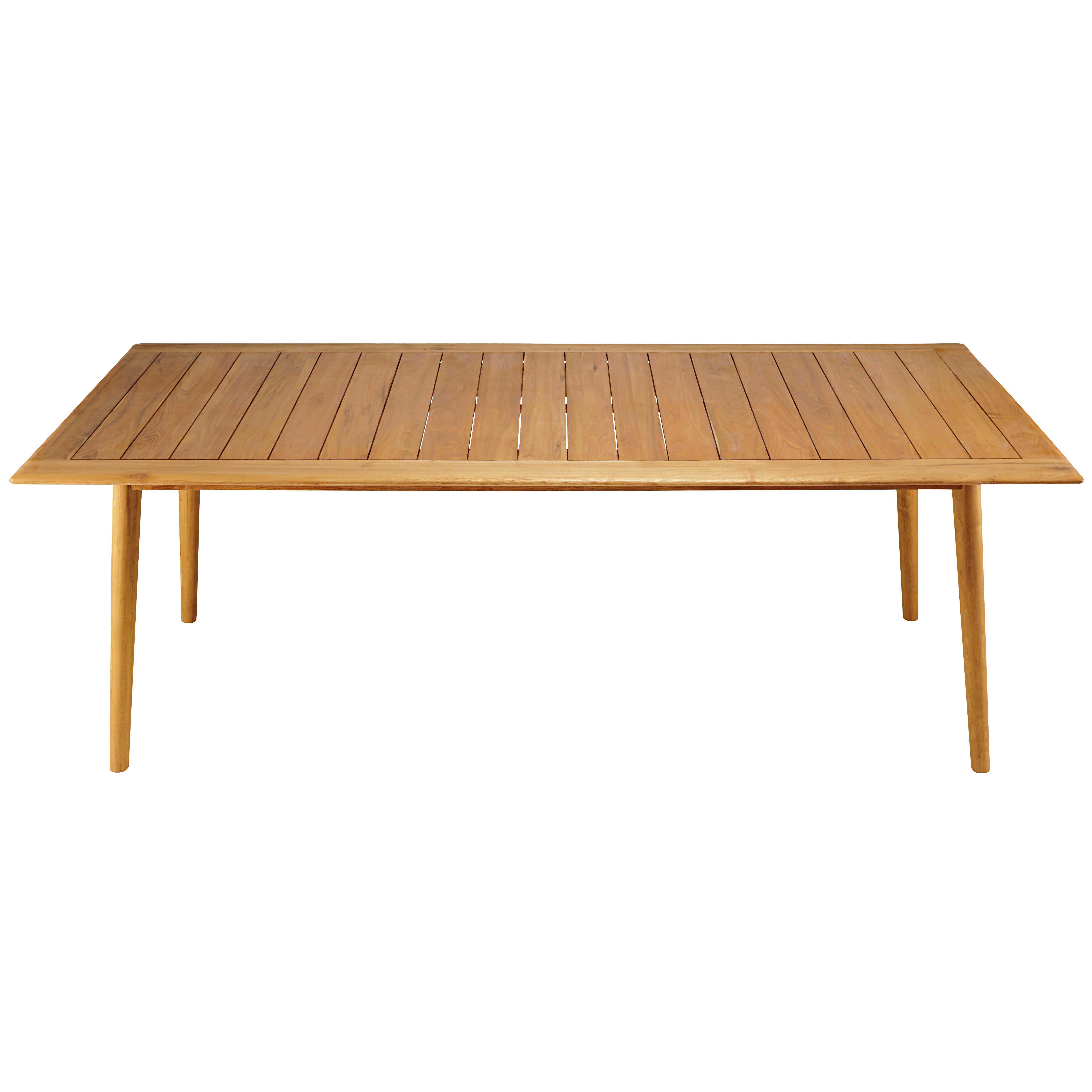 Table de jardin 8 personnes en acacia massif | deco ...