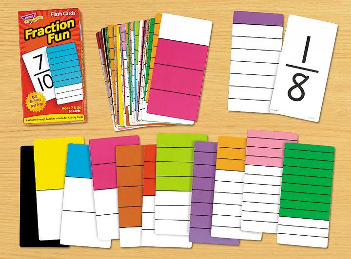 Fraction Fun Flash Cards