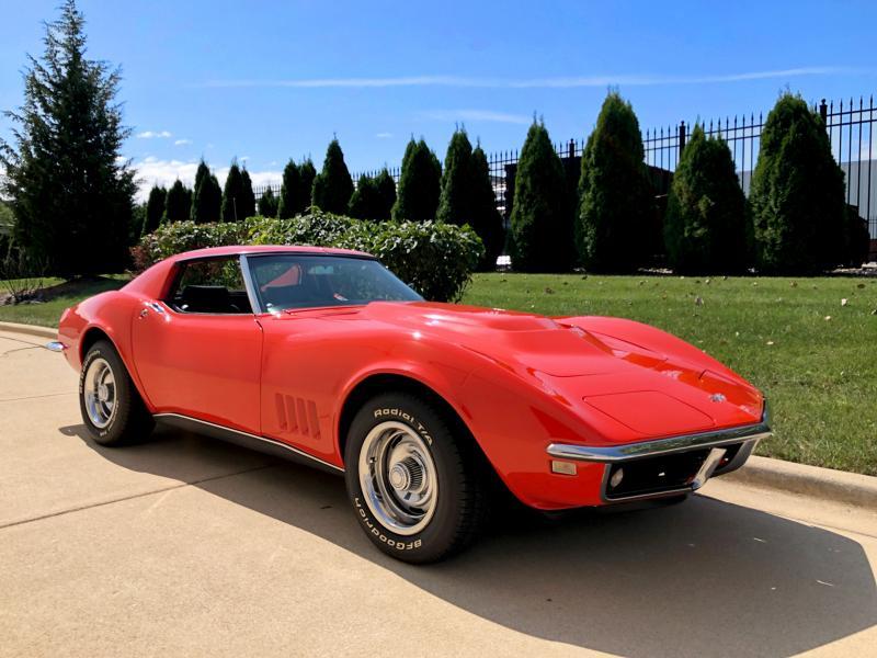 1968 Monaco Orange Chevy Corvette Coupe Corvette For Sale Corvette Stingray For Sale Corvette Stingray