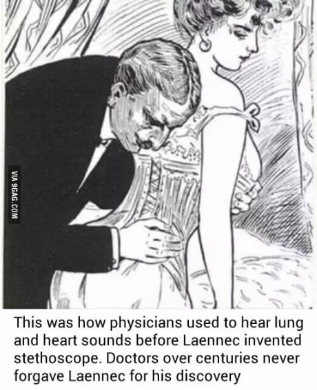 Reason why doctors never forgave Laennec for inventing the ...Doctor Stethoscope Comment