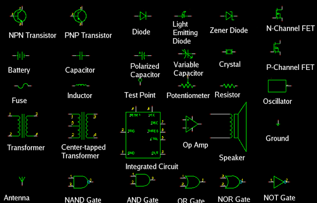 radio electronics symbols eee community engg electrical