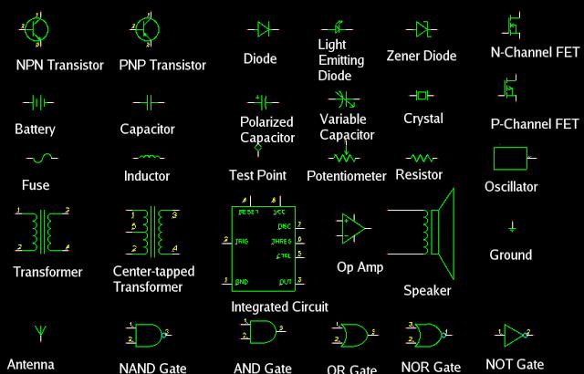Radio Electronics Symbols | Electrical symbols, Electrical engineering  quotes, Electronic engineeringPinterest