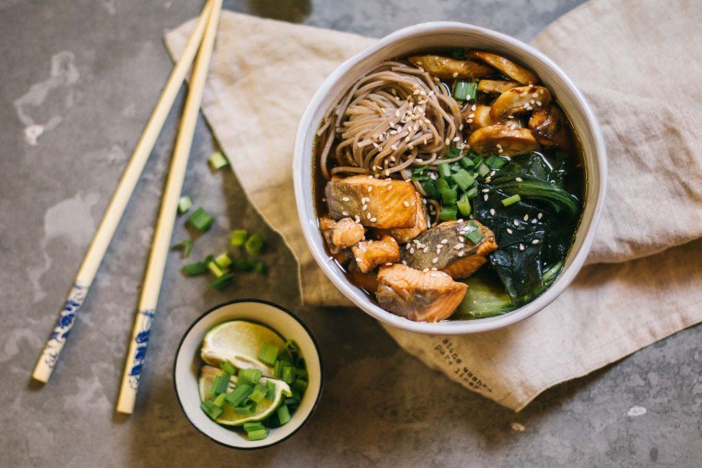 скрещивают японский суп с картинками что текст может