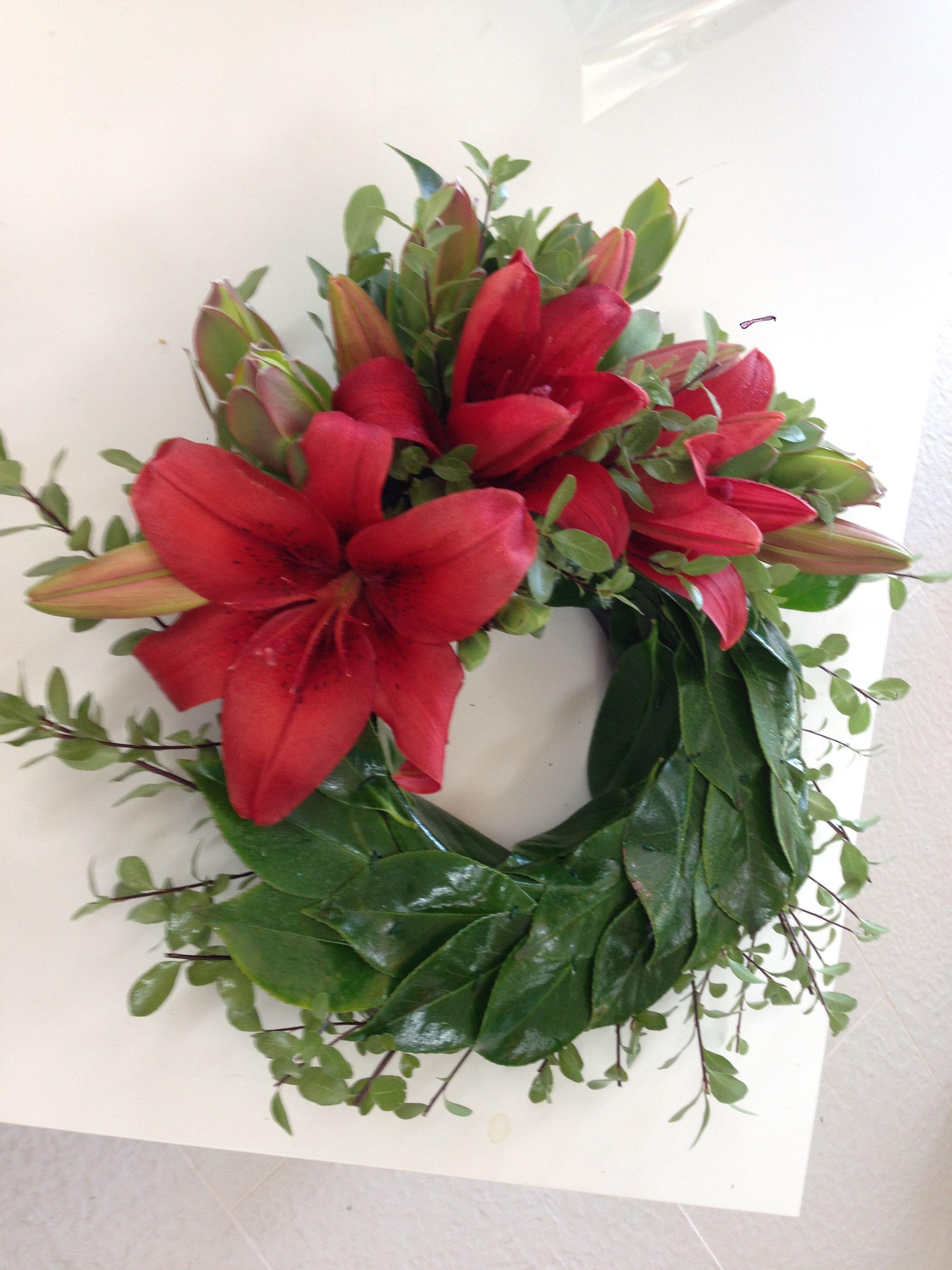 Anzac Wreath Perth Florist Scents Of Style Florist Glen Forrest