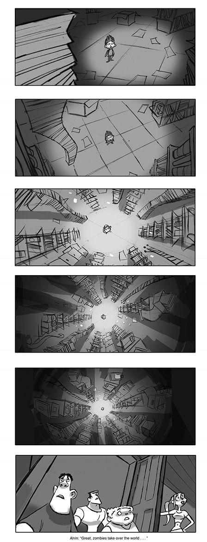 Paranorman Storyboard  AnimationMovies    Storyboard