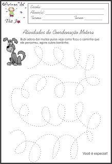 Coordenação motora fina   Jossandra Barbosa