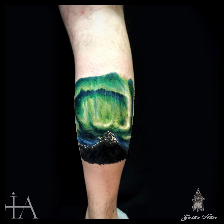 aurora borealis tattoo tatts pinterest