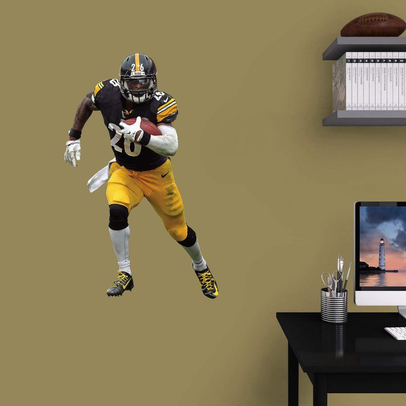 Fathead NFL Pittsburgh Steelers LeVeon Bell Junior Wall Decal - 15-17046 & Fathead NFL Pittsburgh Steelers LeVeon Bell Junior Wall Decal - 15 ...