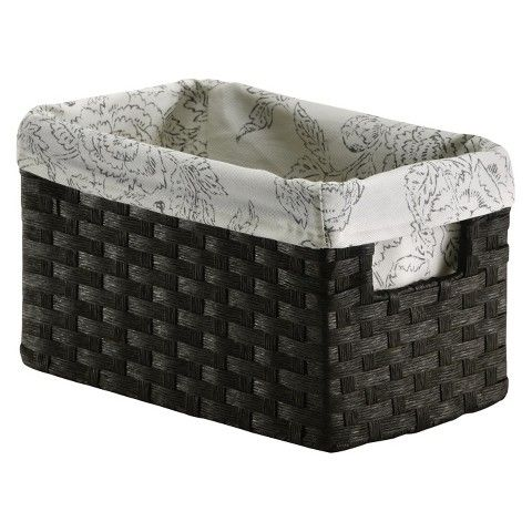 Genial 5/6 Will Fit On Shelf Threshold™ Paper Rope Decorative Basket Set Of 6
