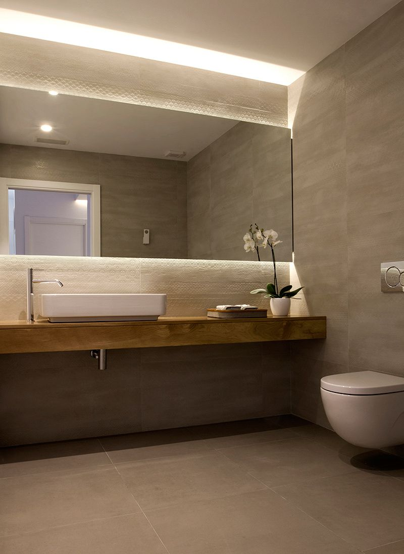 Ba os modernos 97 ideas brillantes bath toilet and for Banos chicos y modernos