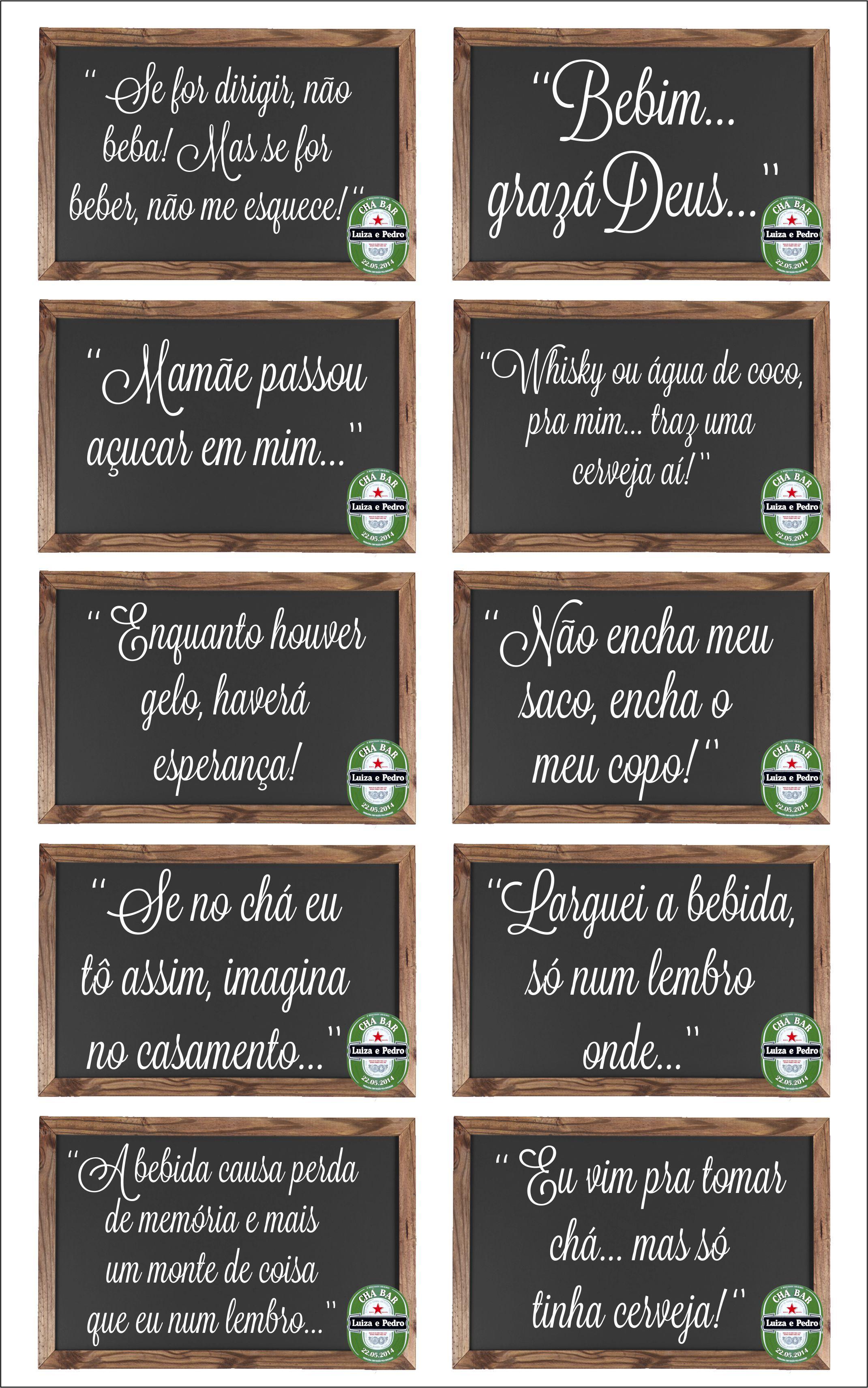 Frases De Boteco Dicas E Etc Pinte